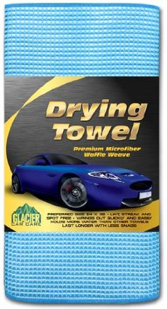 Drying Towel - THE BEST Super Absorbent, Lint Free, Premium Waffle Weave Microfiber Towels for Cars GUARANTEED! - Professional Cloths for Cleaning and Detailing Your Auto - Quick Dry Fibers Beat Chamois - Streak, Spot, Scratch Free and Wrings Out Easily - Preferred Size 24 X 36 Glacier Car Care http://www.amazon.com/dp/B00CSWEJZU/ref=cm_sw_r_pi_dp_yFdZtb1AG2H882DE