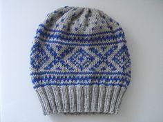 Mütze im Norwegermuster stricken