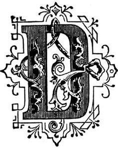 The 775 Best The Letter D Images On Pinterest Letter D