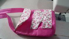 Bolsa para boneca: Costura da bolsa parte 1/2 - Dee Rosa Artesanatos