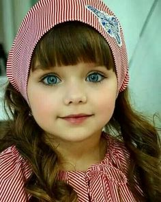 Hermosa BB Look at those Very Beautiful Eyes So precious. Beautiful Little Girls, Cute Little Girls, Cute Baby Girl, Beautiful Children, Beautiful Eyes, Beautiful Babies, Cute Kids, Cute Babies, Anastasia Knyazeva