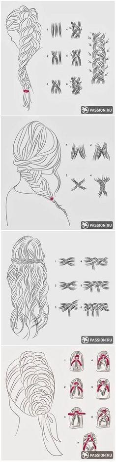 Type of braids More #typesofbraids