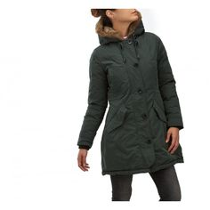 An iconic piece of fashion for a modern military look. What about an #eskimo?