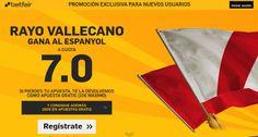 el forero jrvm y todos los bonos de deportes: betfair Rayo gana Espanyol super cuota 7 Liga Espa...