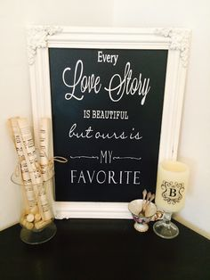Chalkboard Sign DIY with Chalk Ink Pens, using my Silhouette Cameo to make the stencil!  @SilhouettePins, #silhouettecameo