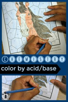 With this puzzle, students color acids and bases!  Science with Mrs. Lau