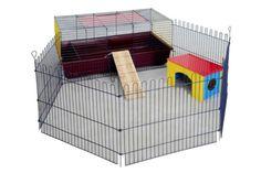 RABBIT GUINEA PIG INDOOR CAGE HUTCH 60cm 80cm 100cm 120cm 60 80 100 120 NEW | eBay