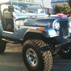 Owning and restoring a Jeep CJ-7.