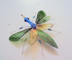 The Long Snouted Forester Circuit Board Insect by DewLeaf on Etsy