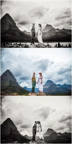 Many Glacier is one of the most gorgeous spots in Glacier National Park for elopements.