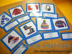Album Archive - Vocabulari i memory: roba d'hivern Activity Centers, My Memory, Teaching Kids, Autism, Art For Kids, Art Projects, Memories, Album, School
