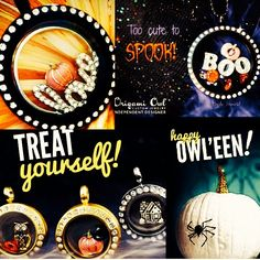 TREAT yourself to Origami Owl this Halloween!www.hollong.origamiowl.com