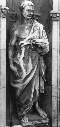 Donatello, Jérémie, 1423, marbre, Florence, Musée de l'œuvre de la Cathédrale