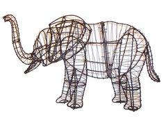 Elephant Garden Topiary Frame