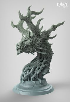 Forest Dragon Keyshot by sandara