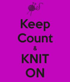 Keep Count & KNIT ON - KEEP CALM AND CARRY ON Image Generator - brought to you by the Ministry of Information
