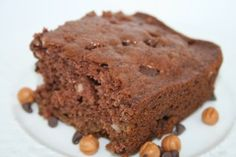 Chocolate Caramel Brownies made using Amish Friendship Bread Starter