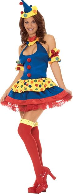 Sexy Clown Costume for Women - Party City