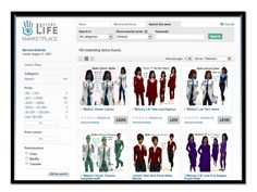 Marvela McBride's online store for your Second Life avatar.  Medical, career and high fashions.  Visit her store today!