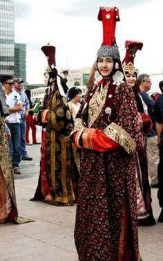 Mongolian traditional clothes festival