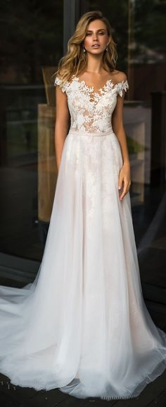 Wedding dress by Florence Wedding Fashion 2019 Despacito B .- Wedding Dress by Florence Wedding Fashion 2019 Despacito Bridal Collection Best Wedding Dresses, Bridal Dresses, Wedding Styles, Gown Wedding, Wedding Ideas, Wedding Venues, Trendy Wedding, Wedding Garter, Dresses Dresses