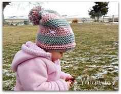 Snowlicious Slouchy Hat #Crochet #Slouchy Hat #Hat