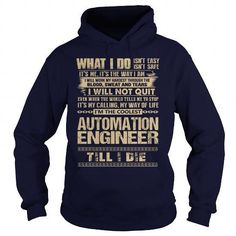 Awesome Tee For Automation Engineer T Shirts, Hoodies Sweatshirts. Check price…