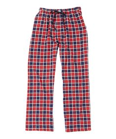 Red Windowpane Lounge Pants by Ben Sherman #zulily #zulilyfinds