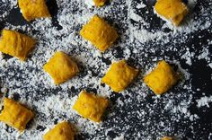 Pumpkin Gnocchi with Walnut Pesto, a recipe on Food52