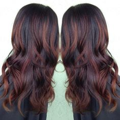 35 Rich And Sultry Dark Brown Hair Color Ideas - Part 15