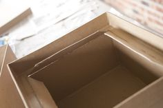 Starting to put it together Diy Card Box, Diy Projects, Handyman Projects, Handmade Crafts, Diy Crafts