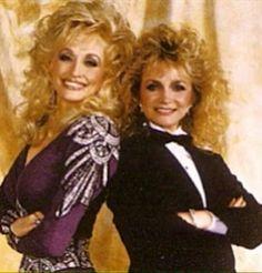 Dolly and Barbara Mandrell.