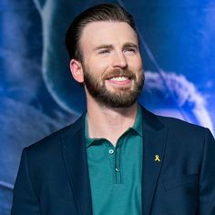 Chris Evans's Beard: A Goodbye and a Tribute: Chris Evans had to part with something very near and dear to him this week — his beard.