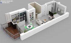 Renders Arquitectura, Edifcio San Martin, Avellaneda - Taringa!