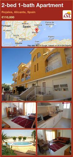 2-bed 1-bath Apartment in Rojales, Alicante, Spain ►€110,000 #PropertyForSaleInSpain