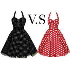 Witch one do you like black or red (comet down below) by prettyiceballos on Polyvore featuring polyvore fashion style