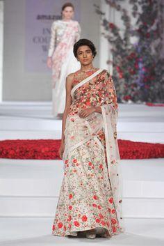 Sheer florals: Varun Bahl