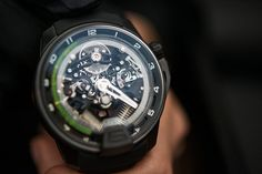 HYT H2 Fluid watch!