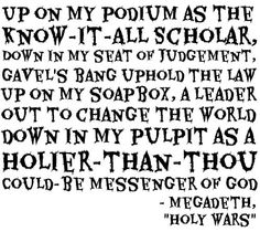 Megadeth | Holy Wars... The Punishment Due | Dave Mustaine | Lyric Quote