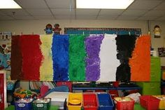 Brown bear, brown bear, what do you see? I see a mural looking at me!