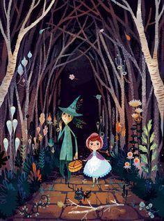 """""""El Maravilloso Mago de Oz"""" Ilustrado por Lorena Álvarez"""
