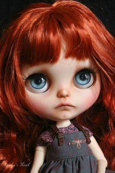 Gretel. OOAK Custom Blythe doll and Icy Doll.