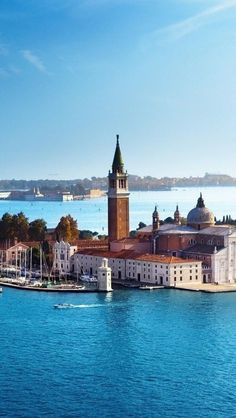 Church of San Giorgio Maggiore - Venezia, Italia. Places Around The World, Oh The Places You'll Go, Places To Travel, Around The Worlds, Wonderful Places, Beautiful Places, Amazing Places, Magic Places, Andrea Palladio