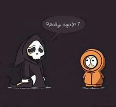 Even though I don't /didn't watch Southpark, this is cute