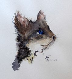 Mouser painting by Lynda Nolte