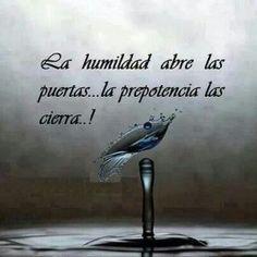 Humildad… Es curioso, tenemos tendencia a llamar humildes a las personas con pocos recursos… Los recursos o la economía no tienen nada que ver con la humildad, se...