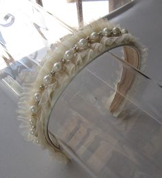 Кот Pearl Кристалл бисера тюль повязка для по HettieSilovitz