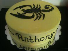 Scorpio cake