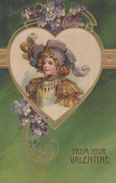 Vintage Valentine's Day Images | Public Domain | Condition Free