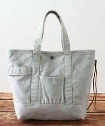JOURNAL STANDARD relume(ジャーナルスタンダード レリューム)のHang Tote Solid Washed / トートバッグ#(トートバッグ)|グレー